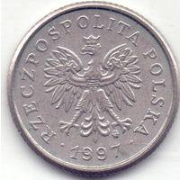 Польша, 20 грошей 1997 года.