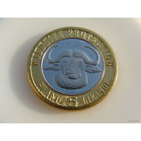 Сискей.  5 лиранди 2013 год / Буйвол / Охрана животного мира / AU-UNC