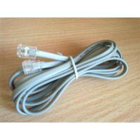 Телефонный кабель RJ11 с евроразъемами 1.9 метра для ADSL модема, сплиттера, домашнего телефона 6P2C