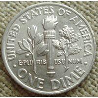 10 центов 2014 D США