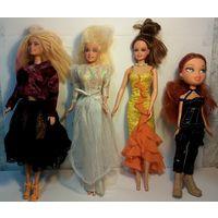 Куклы, Китай, 4шт. одним лотом
