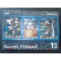Финляндия 2005 витражи