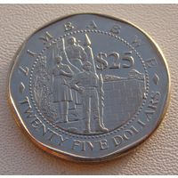 Зимбабве.  25 долларов  2003 год  KM#15