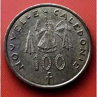 110-01 Новая Каледония 100 франков 2007 г. Единственное предложение монеты данного года на АУ