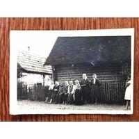 Деревня Бережна, этнография, бабушки, Западная Беларусь до 1939