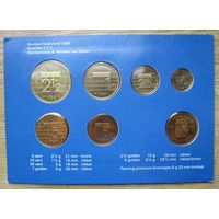 Нидерланды годовой сет монет 1988 в оригинальной упаковке - UNC