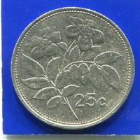 Мальта 25 центов 1993