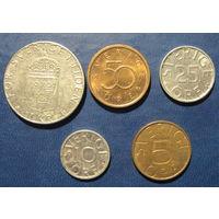 Швеция. Набор монет 3