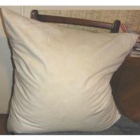 Подушка 60х 60 спальная пуховая перовая. Мягкая набитая не тощая