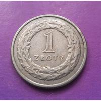 1 злотый 1995 Польша #02