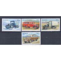 [148] Исландия 1992.Техника.Транспорт.Автомобили. MNH