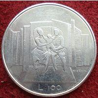 9035:  100 лир 1976 Сан-Марино