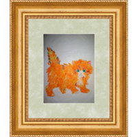 Картина  Рыжий котенок