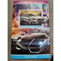 Джибути 2015. Автомобили. Mercedes S-Coupe 2015. Блок