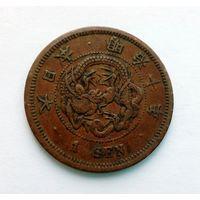 Япония 1 сен 1877 Дракон
