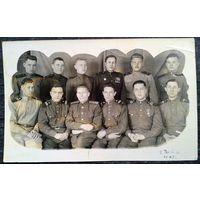 Фото группы военных. Чита. 1949 г. 10.5х17 см.