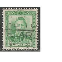 Новая Зеландия. Король Георг VI. 1938г. Mi#239.