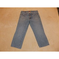 Капри джинсовые Lucky Brand 44 р-р. Made in USA.