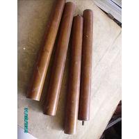 Балясины цилиндрические  для столика.Длинна 425 мм Диаметр 45 мм.