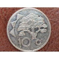 10 центов 1993 Намибия