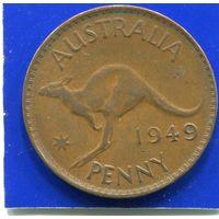 Австралия 1 пенни 1949