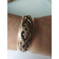 Комплект из казахской бижутерии:браслет.кольца-2 штуки,серьги-2 штуки