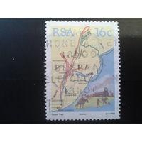 ЮАР 1988 карта