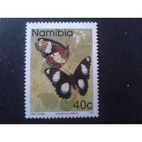 Намибия 1993 бабочка