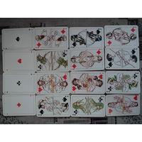 Игральные карты преферансные 1986г