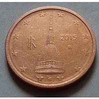 2 евроцента, Италия 2015 г.