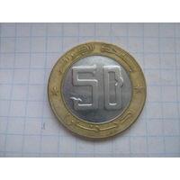 Алжир 50 динар 2007г.km126