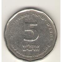 5 новых шекелей 1992 г.