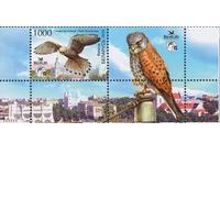 Птица года Беларуси. (Обыкновнная пустельга) (Bird Life) 2010 год. Беларусь Фауна ** купон