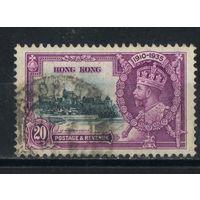 GB Колонии Гонконг 1935 GV Коронация Омнибус #135
