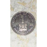 Кения 1 шиллинг 2005