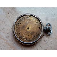 Часы карманные Швейцария первая половина ХХ века диаметр 5 см.