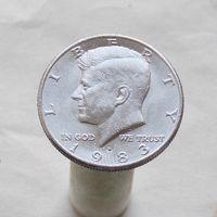 США 50 центов 1983 D