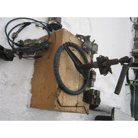 """Рулевое колесо в полнейшей комплектации от """"ЗиЛ"""". С прочной оригинальной оплёткой."""