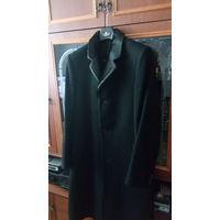 Пальто модельное теплое кашемировое