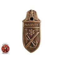 Щит Нарвик (1940) (бронзовый) (КОПИЯ)