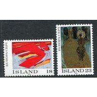 Исландия 1975 Европа СЕПТ CEPT Искусство Живопись Религия. Полная серия. **