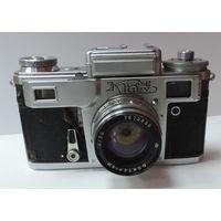 """Фотоаппарат """"Киев 4"""" с фото экспонометром. Номер 7632874. Не исправный."""