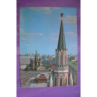 Логинов Б., Маркелов А.(фото), Москва. Вид на Никольскую башню Кремля и Красную площадь; 1979, чистая.