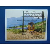 Лесото. Техника.Блок и серия.