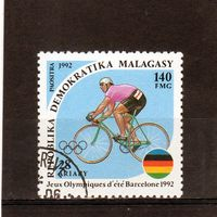 Мадагаскар.Велоспорт.Олимпийские игры.Барселона.1992.