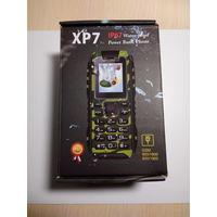XP7 (IP67) противоударный, прорезиненный телефон, аналог американского Sonim