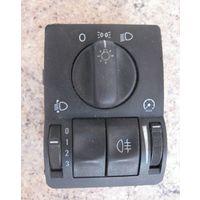 100901 Opel astra G 1.7dti консоль света корректора 90561381