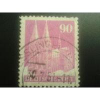 Германия 1948 англо-амер. зона L14 90 пф. Кельнский собор
