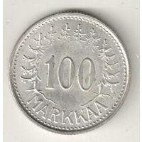 Финляндия 100 марка 1958