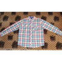 Рубашка Cotton Traders 100 % хлопок оригинал. 50-52 (L),180см, ворот  43/44.